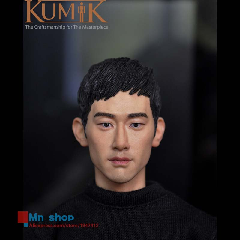 1/6 Head Sculpt Model Male Figure Doll Star Head Carving 1/6 Action Figure Accessories Collection Gift KUMIK15-3 1 6 head sculpt male figure doll guardians of the galaxy star lord head carving 1 6 action figure acccessories juguete toys gift