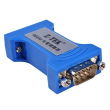 Z TEK RS 232 seri port optoelektronik izolatör 9 pin seri RS232 yıldırımdan korunma dalgalanma 3 Bit İzole Dönüştürücü