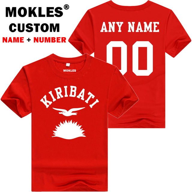 KIRIBATI t shirt diy free custom made name number kir t-shirt nation flag ki republic countrycollege university print TYFHJ5K6OS