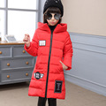Girls Long Winter Down Coat Cotton Jackets Thick Warm Children's Winter Clothing Outerwear&Coats SY112506