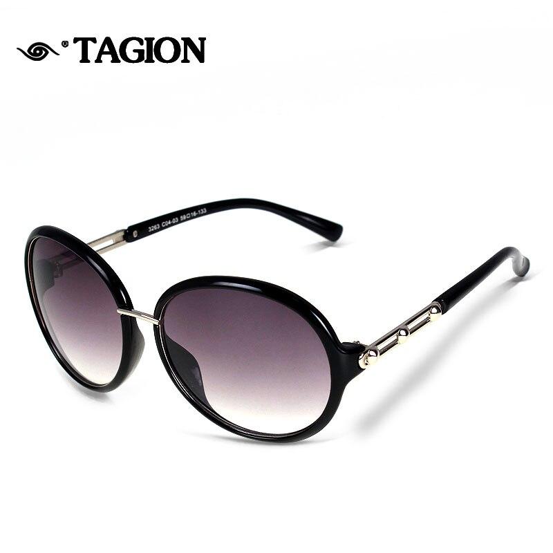 2015 punkte Frauen Sonnenbrille Schild Form Brillen Rahmen Gläser ...