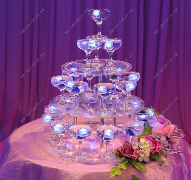 Aliexpress Com Buy 3 Tier Wedding Champagne Tower