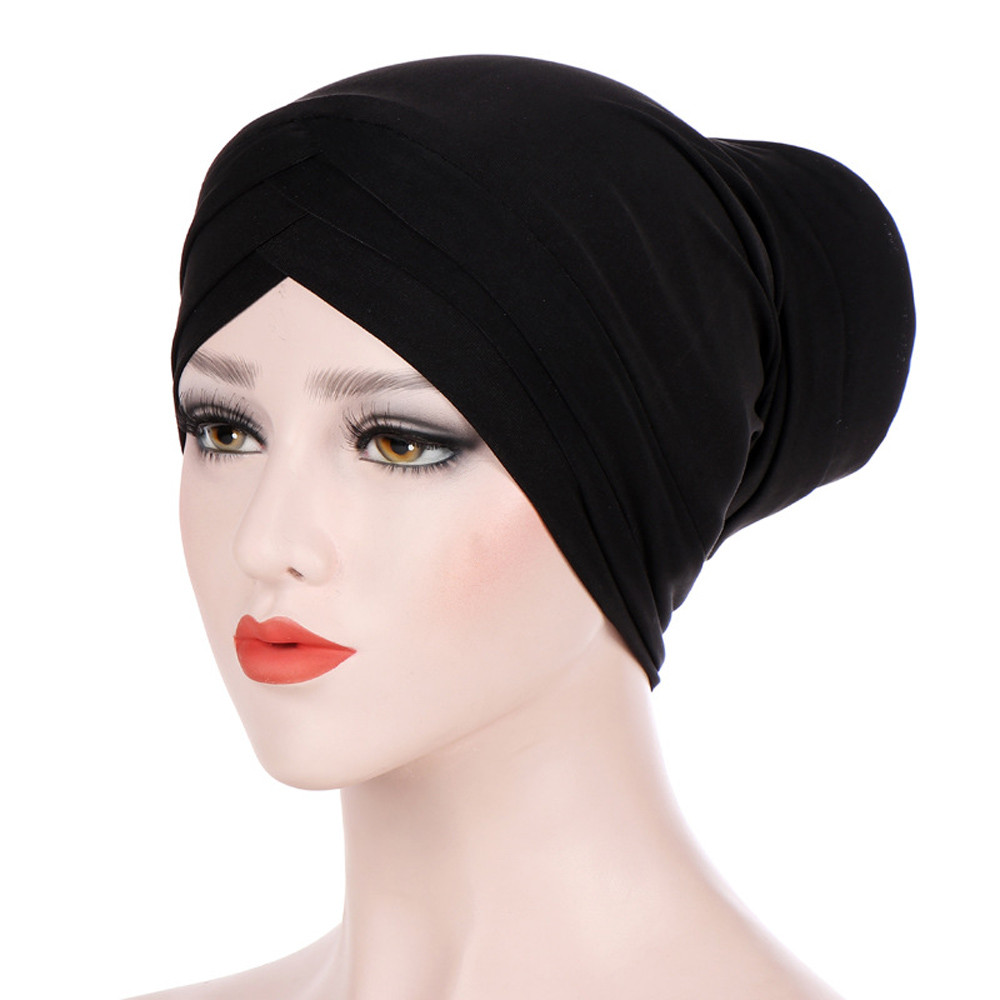 Muqgew Casual Solid Satin Bonnet Hatsune Miku Wig Mens Winter Baseball Caps Turban Hat Winter Hats For Men 2019 Winter Hat Sturdy Construction