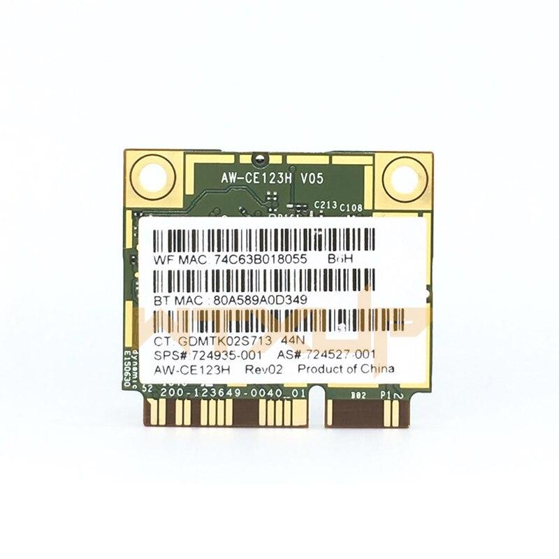 Broadcom BCM943228HMB WIFI WIRELESS BLUETOOTH Card da HP PROBOOK 650 G1