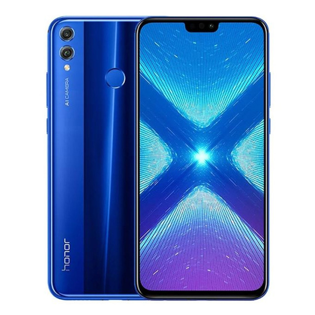 "HUAWEI HONOR 8X CN Version Android 8.1 4G LTE Smartphone 4GB RAM 64GB ROM 6.5"" 2.2GHz Octa Core 20MP 3750mAh Mobile Phone"