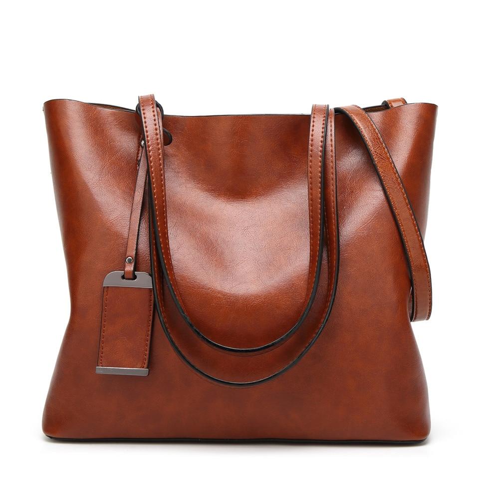 New Vintage Women Tote Leather Handbags 1