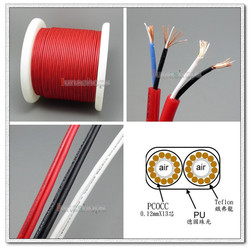 100cm High-end TOP High Purity PCOCC Stereo Earphone DIY Bulk Cable With Japanese Conductors + PEP Insulated LN004782