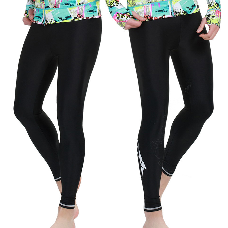2018 Mens Swimming Trunks Sunscreen Clothing Fitness Long Pants Mens Scuba diving Trouser Men Sunscreen surfing Pants