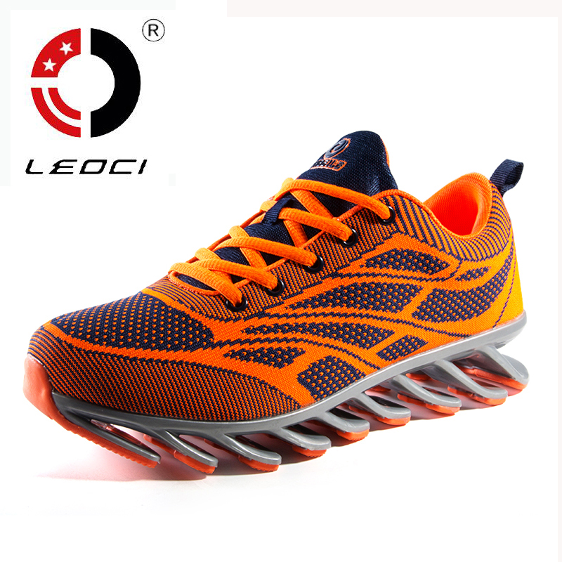LEOCI Flywire Running Shoes For Men Athletic Jogging Shoes Men s font b Sneakers b font