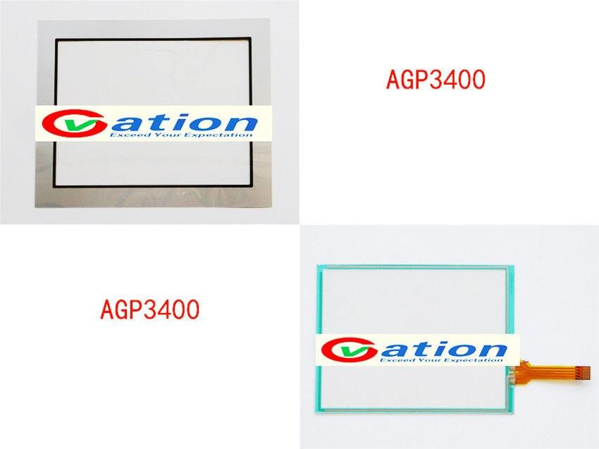 NEW  AGP3400-T1-D24 AGP3400-S1-D24 touch screen + Protective film видеокарта джефорс разъем agp