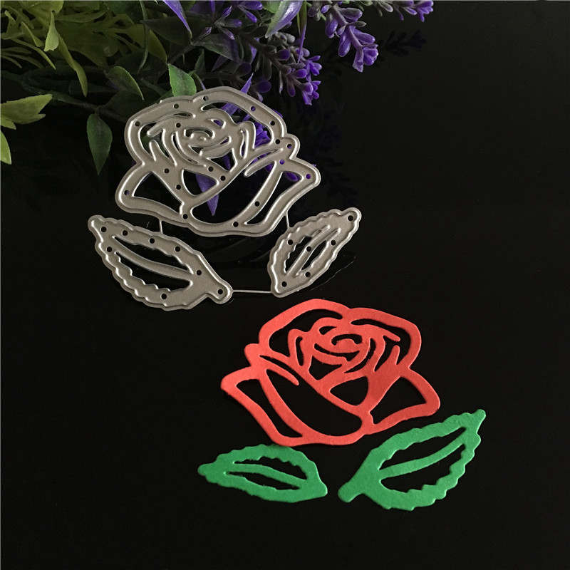 metal steel Flower Craft Card Cutting Dies 2019 Scrapbooking Stencils For DIY Photo Album Card Decoration Embossing paper cards in Cutting Dies from Home Garden