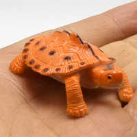 8pcs/lot Lifelike Simulation Animals turtles model Action Figure Toy For Kids Educational toys