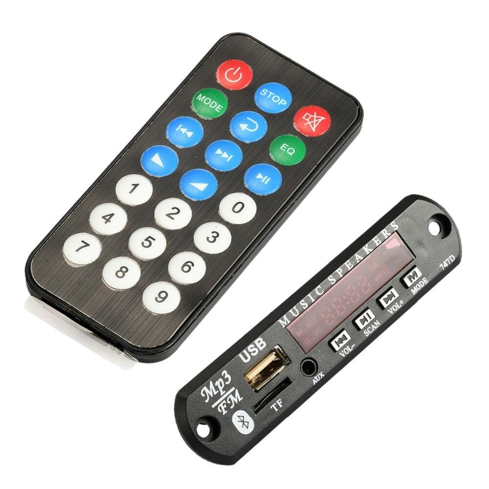 10 Stücke Drahtlose Bluetooth 12 V 5 V Lautsprecher Module Mp3 Wma Decoder Board Audio Modul Unterstützung Usb Tf Radio Für Auto Lautsprecher