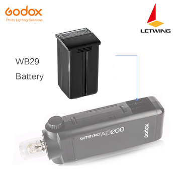 Godox WB29 Battery Pack for AD200 Flash 14.4V 2900mAh for AD200 Flash (AD200 Battery WB-29)