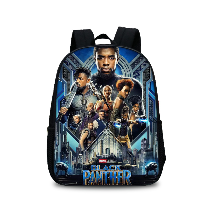 2018 New Black Panther Marvel Printed Children School Bags for Teenage Boy Girls Students Bag Backpack For Boys Travel bags anime noragami aragoto yato backpack for teenage girls boys cartoon yukine children school bags casul book bag travel backpacks