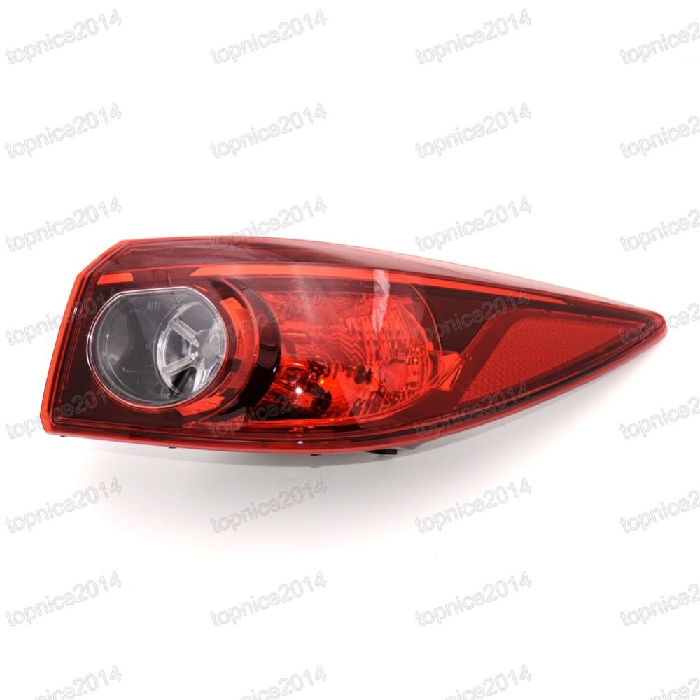 1Pcs Right Side Outer Taillamp Rear Tail Light Lamp RH BKC3 51 150 For Mazda 3