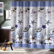 Buy seashell shower curtain and free shipping on AliExpress
