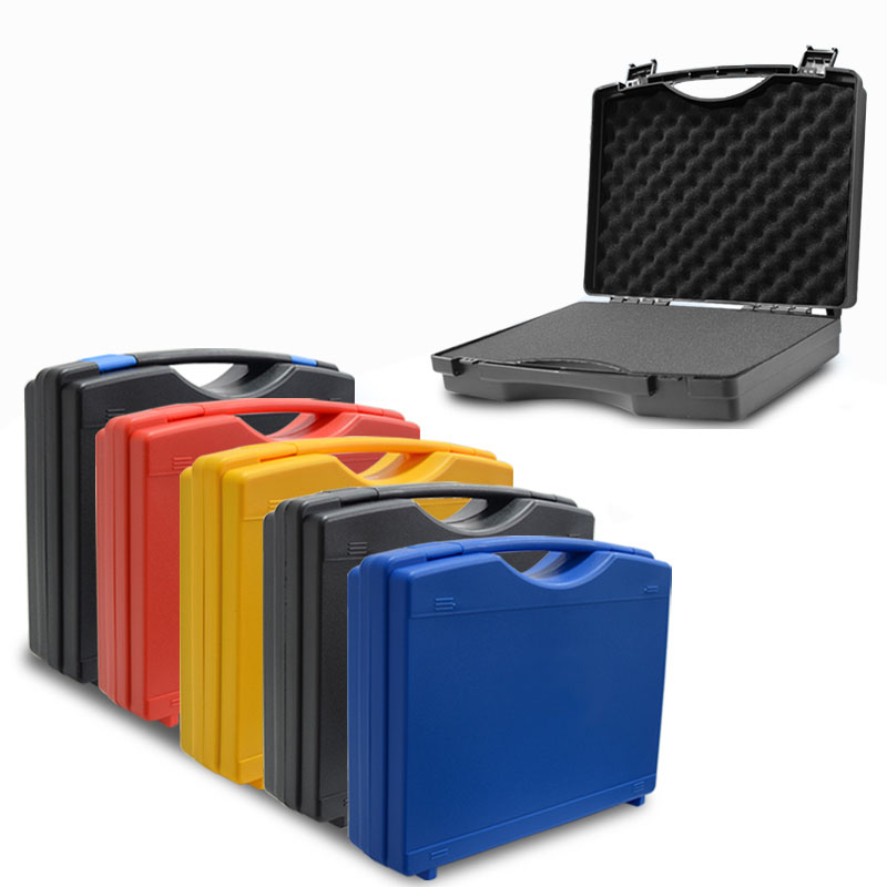 Toolbox Portable Plastic Box Protective Safety Instrument Box Equipment Storage Case With Sponge 340x273x83mm