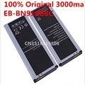 100% original de la batería de reemplazo para samsung galaxy note4 n9100 n9108v n9106w nota 4 eb-bn916bbc 3000 mah