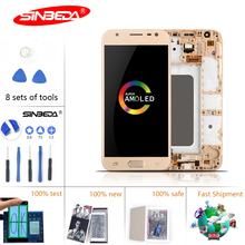 5.0 Sinbeda For SAMSUNG Galaxy J330 LCD Touch Screen with Frame Digitizer J3 Pro 2017 Display $