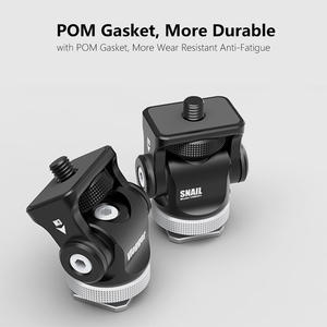 Image 1 - Monitör braketi standı 180 derece döndürülmüş monitör montaj tutucu soğuk ayakkabı ile Video ışıkları mikrofon DSLR VideoMaker Vlogger
