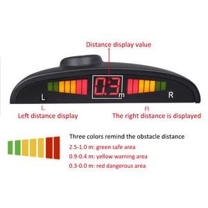 Image 5 - 4 Probes Car Reversing Radar 0 2m Detection Distance Auto Parking Sensor System Reversing Automatic Work Parking Detector
