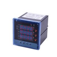 Professional Digital AC 220V 0 500V Panel Voltage Meter 80*80 Voltmeter Volt Monitor Household Voltage Measuring Instrument