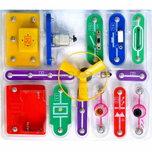 Teacher Wang W-58, Electronic Block Kit, A LAB for Electronic Innovation, Building Blocks, Educational Appliance Assembling Toys