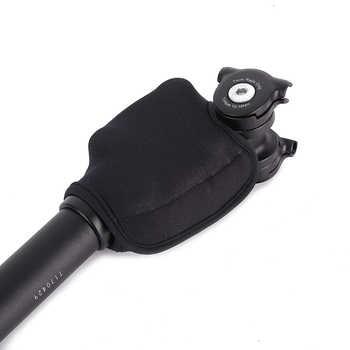 Suntour NCX Damping suspension seatpost bike bicycle mtb seat post 27.2 28.6 30.0 30.4 30.8 31.6*350mm sliver black Seatposts