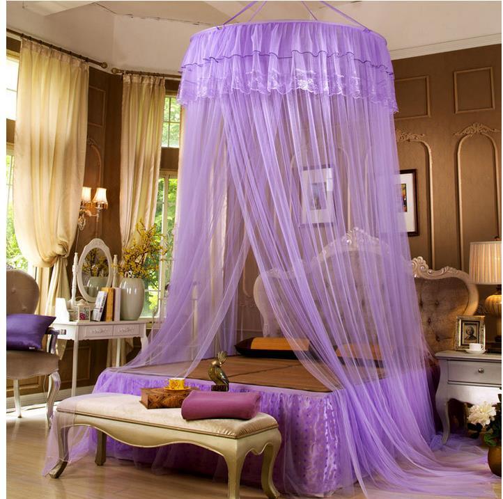 Mosquiteiro para cama de casal vender por atacado for Camas con cortinas