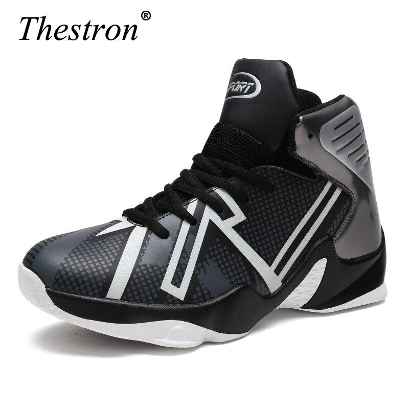 Basket chaussures hommes offre spéciale 2019 nouveauté pour extérieur Air coussin baskets chaussures de sport Zapatillas Basquetbol Basket Homme