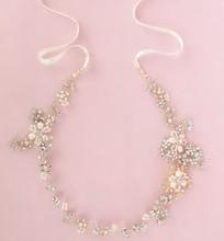 Impresionante oro Rhinestone boda diadema nupcial cristalina del pelo accesorios hechos a mano mujeres celada