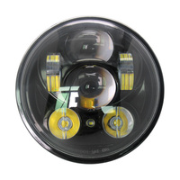 For Harley Iron 883 Dyna Street Bob FXDB Sportsters Moto lamp 5.75 inch LED Headlight 5 3/4 inch Headlamp MOTOR position