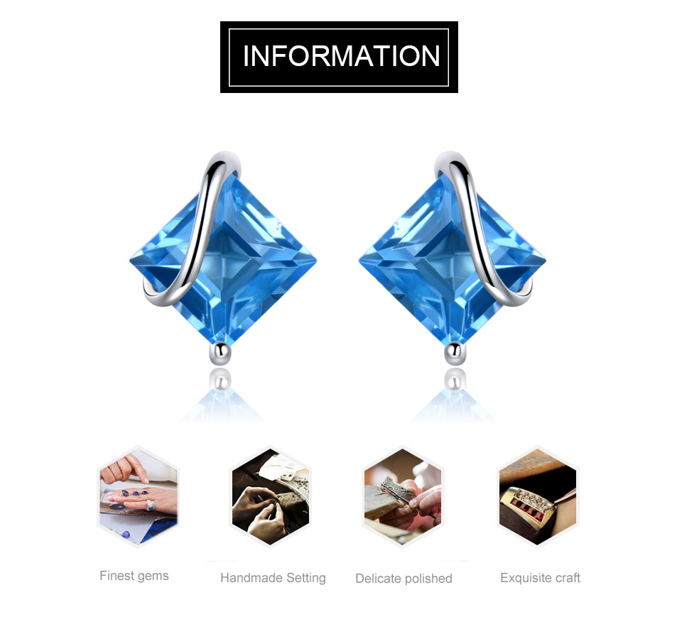 natural swiss blue topaz earrings for women (1)