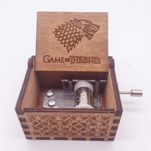 Game of Thrones Themed Antique Music Box