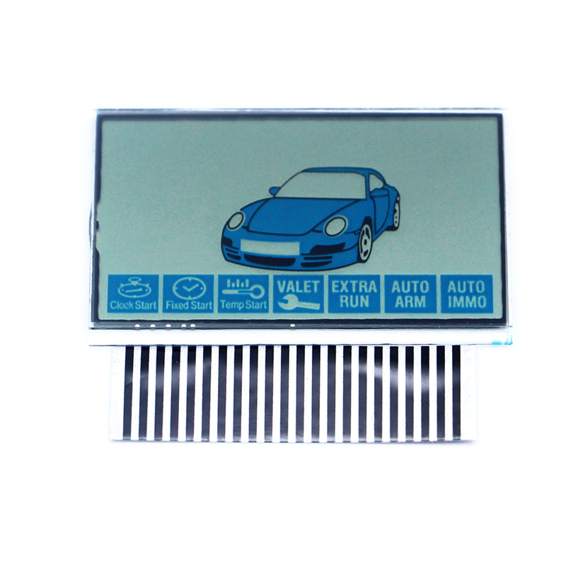 LCD Display Screen For Russian Version Starline B9 Lcd Remote Two Way Car Remote Controller FOB Styling