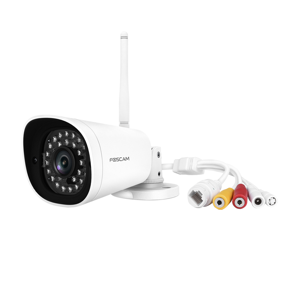 Image 5 - Foscam G4P Super HD 4MP(2K) WiFi Waterproof Security Camera with Human Motion Detection 66 ft Night Vision Bullet IP Camera-in Surveillance Cameras from Security & Protection