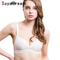 Women Lace Bras Wireless Bralette Seamless Bra Push Up 100 Natural Silk Underwear Deporte Sujetador Reggiseno