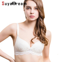 Women Lace Bras Wireless Bralette Seamless Bra Push Up 100 Natural Silk Underwear Deporte Sujetador Reggiseno