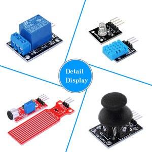 Image 3 - KEYES RFID ARDUINO Обучающий набор с uno r3 обновление Arduino стартовый набор для сетевого обучения