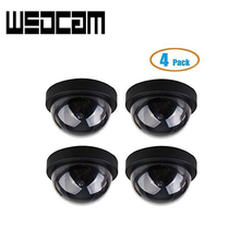 Fake Dome Surveillance Security Dummy Imitation Camera Fake Security Camera Simulated Infrared IR LED 4/lot