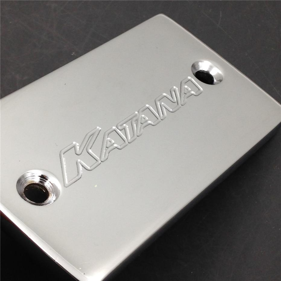 Aftermarket free shipping motor parts For Motorcycle 1989-2007 Suzuki Katana 600 750 Billet oil brake Fluid Reservoir Cap CHROME aftermarket free shipping motor parts for motorcycle kawasaki vulcan 500 750 800 900 1500 1600 billet fluid reservoir cap chrome