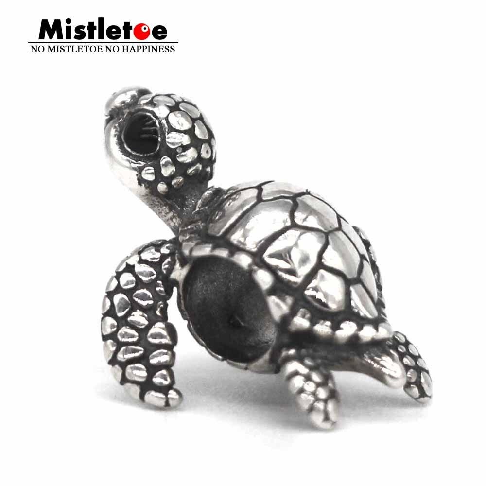 Mistletoe 925 Sterling Silver Cute Turtle Charm Bead Fit Bella Fascini Bracelet JewelryMistletoe 925 Sterling Silver Cute Turtle Charm Bead Fit Bella Fascini Bracelet Jewelry