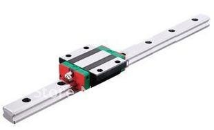 Linear Guide HGR20 L350mm linear guide way + 1pcs HGW20 CA Wide BlocksLinear Guide HGR20 L350mm linear guide way + 1pcs HGW20 CA Wide Blocks