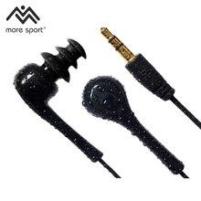 À Prova D' Água IPX8 Underwater Esporte fone de ouvido Estéreo Fone de Ouvido fone de Ouvido Áudio para Mergulho Natação