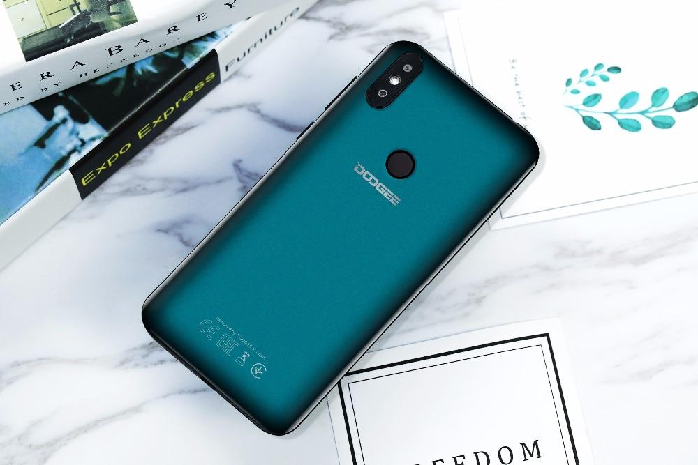 DOOGEE Y8 Smartphone MTK6739 3GB RAM 16GB ROM Android 9.0 FDD LTE 6.1inch 19:9 Waterdrop LTPS Screen 3400mAh Dual SIM 8.0MP Cam