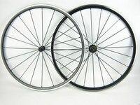 1530g Aleación De ruedas carretera Kinlin XR300 peces Bitex R13 6 Trinquetes 20/24 agujeros de aluminio anodizado negro