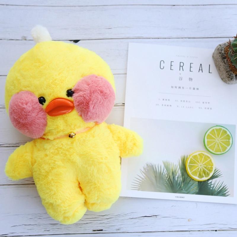 INS Cafe Plush Figure Toys Duck Stuffed Animal The Internet Star Hyaluronic acid duck Mini