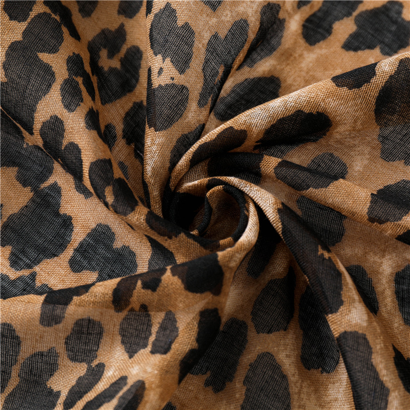 Women Brand Fashion Ombre Leopard Dot Tassel Viscose Shawl Scarf Winter Print Soft Wrap Pashminas Sjaal Muslim Hijab Snood in Women 39 s Scarves from Apparel Accessories