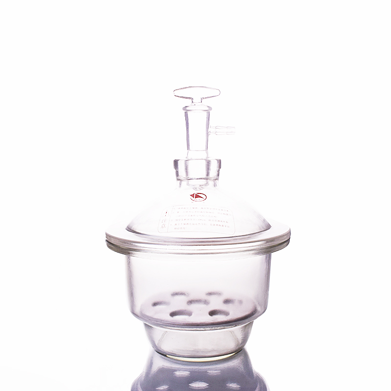 240mm Vacuum desiccator clear with ground-in stopcock and porcelain plate,White Glass desiccator,Dryer lab drying equipment цена